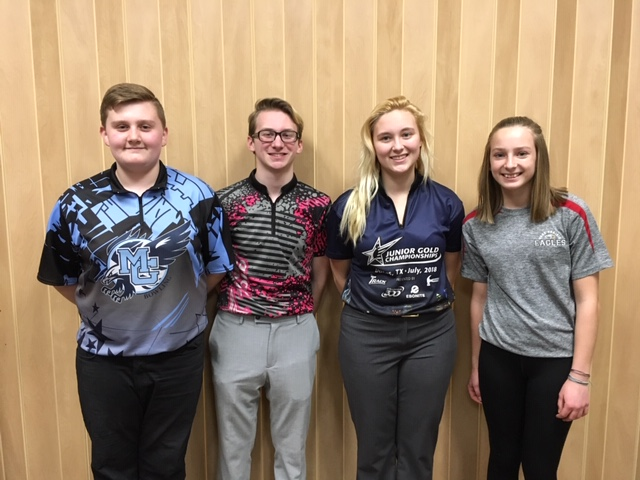 12.16.18 BYBT Champions Riley Deininger BH, Zach Thomas BS, Stephanie Handford GS, Natalie Curtis GH