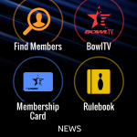USBC Mobile App Home Screen